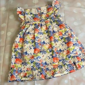 Gently work, Baby Gap Flutter Sleeve dress, sz 2